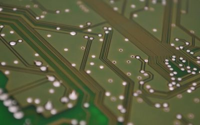 Circuit board of computer involving Machine Learning